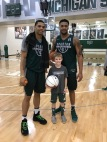 Miles Bridges, Nick Ward, and Connor.